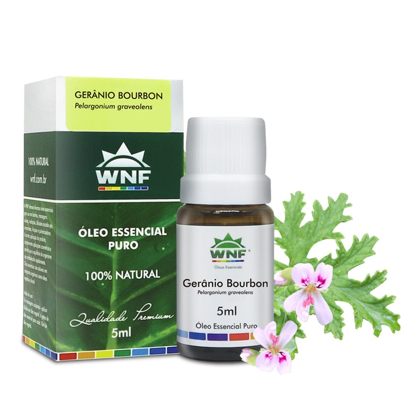 Óleo Essencial Geranio Bourbon WNF - 5ml