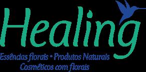 Healing Florais Logo