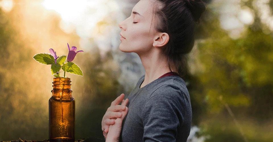 O que é a terapia floral?