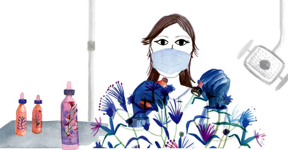 Os florais e a saúde bucal